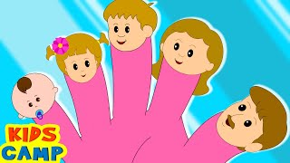 The Finger Family Song | Many More Nursery Rhymes for Children By KidsCamp