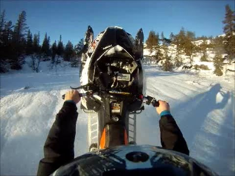 2013 Polaris Assault Boondocker Turbo Wheelie Time