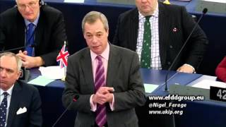 EU faces existential crisis as democracy becomes contagious - UKIP Leader Nigel Farage
