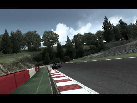 F1 2010 - First lap at Spa