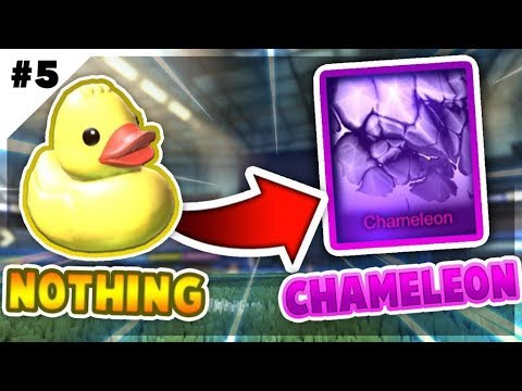 TRADING FROM NOTHING TO CHAMELEON *FINALE* (ROCKET LEAGUE BEST TRADES)
