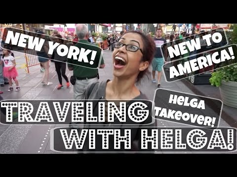 I WAS KIDNAPPED?! HELGA TAKEOVER! ft. David Dobrik | Lizzza