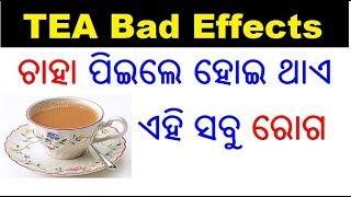 ଚାହା ପିଇବା ର କୁପ୍ରଭାବ | Bad effects of tea in Odia | Side effects of tea in Odia | ODIA HEALTH TIPS