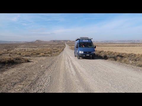 In Spanien gibt es eine Wüste!・VLOG #104・Bardenas Reales・Mit dem Camper durch Europa