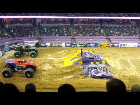 Monster jam 2/15/2014 memphis, tn