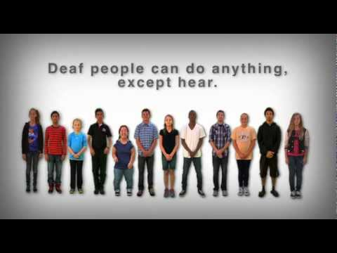 One LENS: Deaf People Can Do Anything, Except Hear