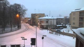 TimeLapse - Colorno (PR) Snow 10-11jan2012