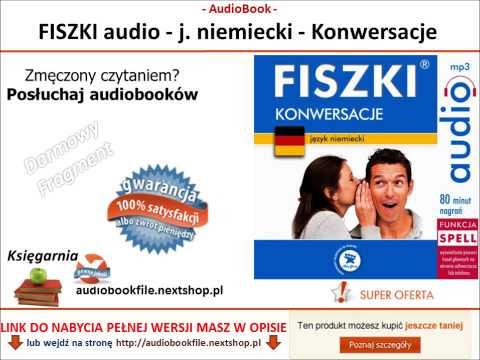 SZYBKA NAUKA NIEMIECKIEGO - KONWERSACJE - FISZKI Audio - MP3 Do Pobrania