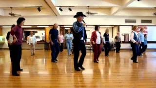 Big Blue Note ( Line Dance ) With Music.wmv