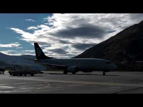 Air New Zealand Boeing 737-300's @ Queenstown NZ
