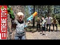 Nerf Zombie Attack! The Wild Undead Vs. Ethan and Cole Nerf Z...