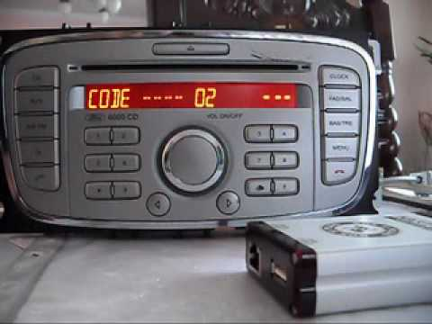 Ford V 6000 series unlocking via RCD Tools