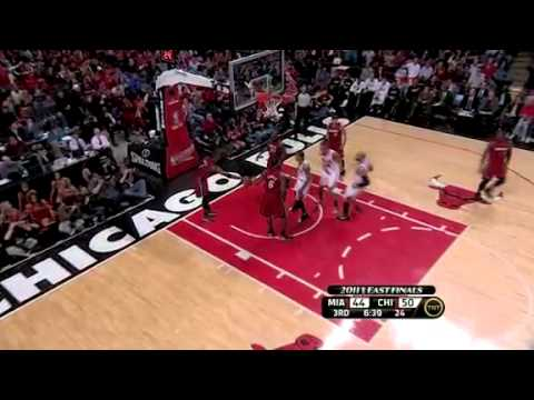 NBA Playoffs 2011 :  Miami Heat vs. Chicago Bulls - Game 5 Eastern Conference Finals