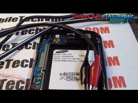 Video: Samsung Galaxy S III - JTAG Brick Repair Service (Debricking/Unbrick/Brick FIX)