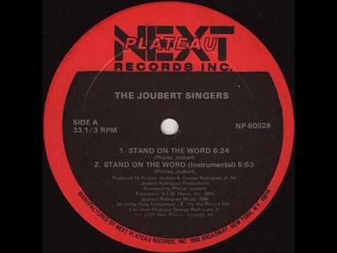 LARRY LEVAN - STAND ON THE WORD  ( JOUBERT SINGERS)