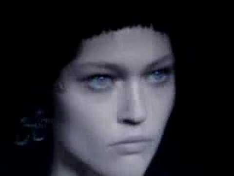 Gucci F/W 2007 - backstage / show - youtube
