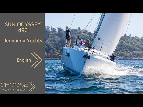 SUN ODYSSEY 490 by Jeanneau : Guided Tour Video (in English)