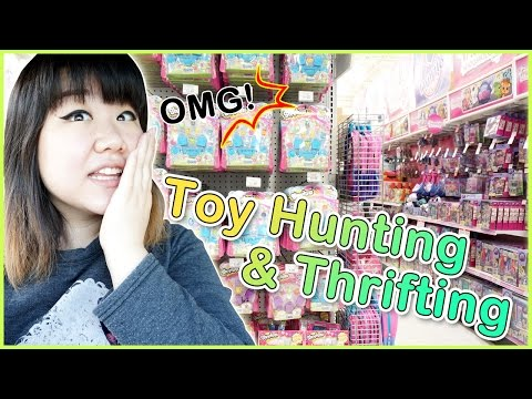 Toy Hunting & Thrifting - Shopkins, Adventure Time, Monster High, My Little Pony And More! video