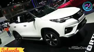 New Fortuner 2019 Toyota In India