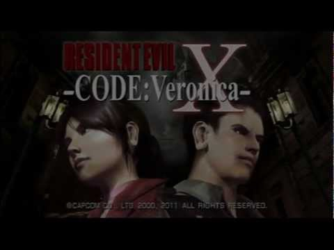 Classic PS2 Game Resident Evil Code Veronica X on PS3 in HD 1080p