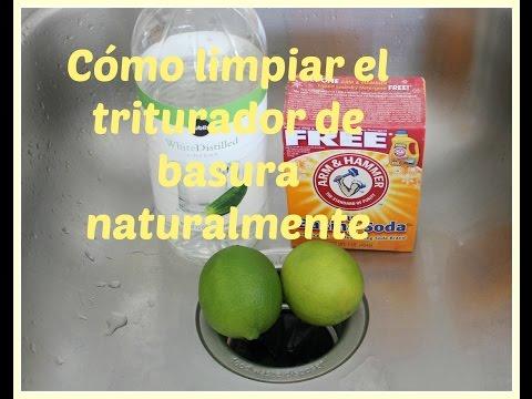 Como limpiar el triturador de comida naturalmente ♦ consaboraKaFé