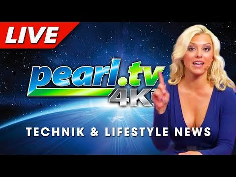 ⭐️⭐️⭐️⭐️⭐️   pearl.tv LIVE-Stream - wir zeigen die Technik-Highlights!
