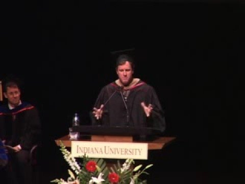 IU MBA Graduation 2008 Keynote Speaker Steve Bellamy part 1