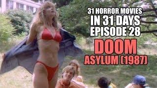 31 Horror Movies in 31 Days #28: DOOM ASYLUM (1987)