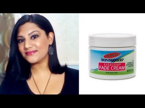 How To Lighten/Whiten Your Skin Using: Palmer's Skin Success Even Tone Skin Fade Cream Review