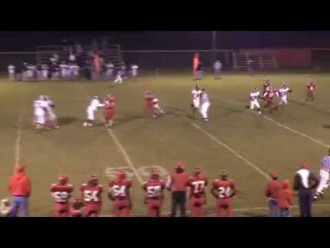 Tensas Academy's Andy Hazel 8 man football Highlight film