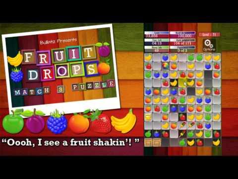 Fruit Drops - Match three puzzle