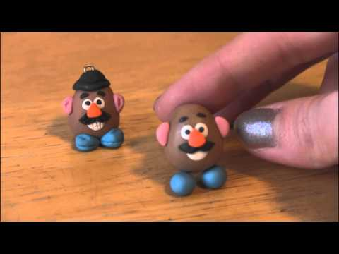 DIY: Polymer Clay MR. POTATO HEAD