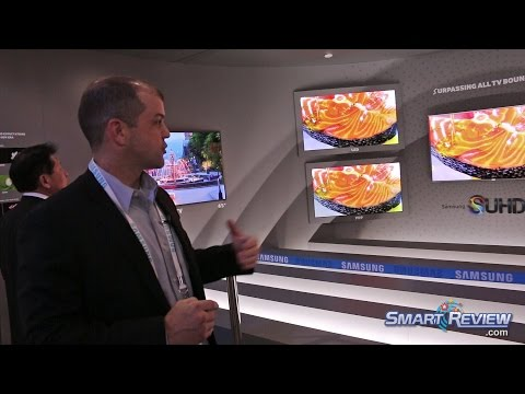 CES 2015 | Samsung 4K TVs Booth Tour | SUHD Ultra HD TV Lineup | Best New UHD Technology
