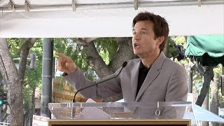 Jason Bateman Speech at his Hollywood Star Ceremony