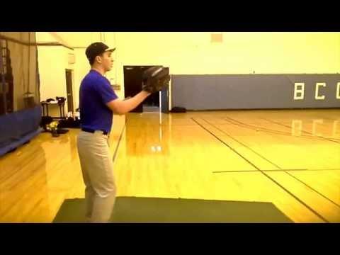 Matt DePalmo Pitching 2014 (SUNY Broome Community College)