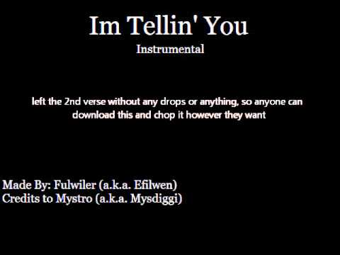 Mystro - Im Tellin' You (instrumental Remake) :(: Fulwiler :): video