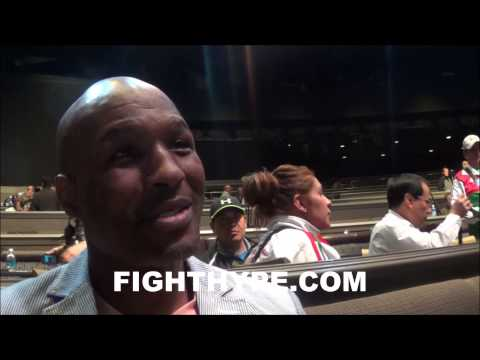 BERNARD HOPKINS SAYS HE DOESNT SEE MAYWEATHER VS PACQUIAO HAPPENING AS LONG AS BOB ARUM LIVING
