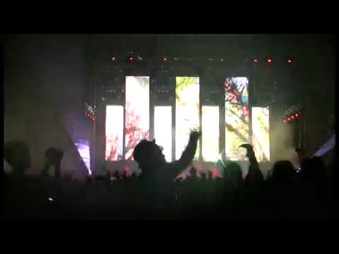 Electric Daisy Carnival 2009 - Images Live Video Performance by Vello Virkhaus - Vsquared Labs