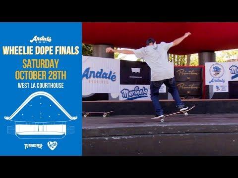 Carlos Iqui Andalé Wheelie Dope Finals 2017 Teaser