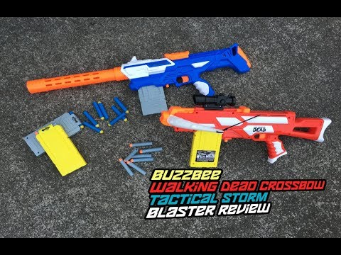 BuzzBee Tactical Storm / The Walking Dead Crossbow Review    Different. yet same.