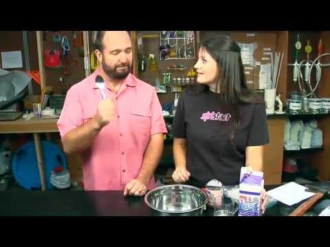How to Make Instant Dry Ice Cream - Video