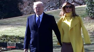 Did Melania Trump Swat President Trump's Hand Again?