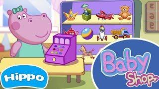 Hippo 🌼 Hippo Pepa numa Loja 🌼 Jogo de desenhos animados para crianças