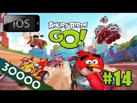 [30k] [iOS] Angry Birds Go! прохождение [#14] - Прощайте. воздушные гонки