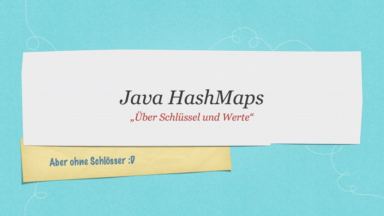 how to create a hashmap in java