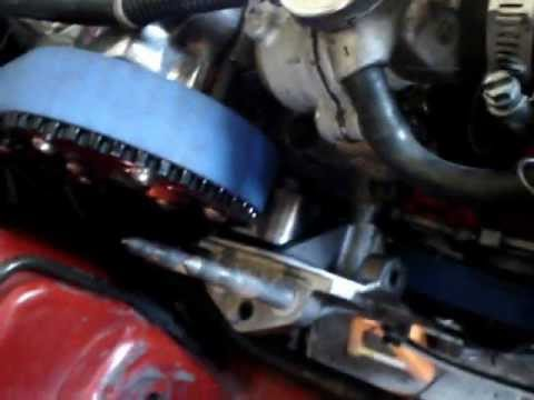 420a Eclipse timing belt walk fix