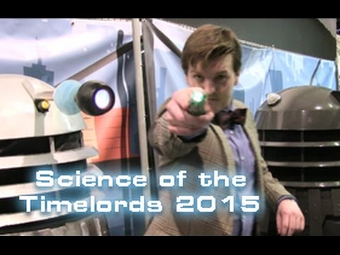 National Space Centre: Science of the Timelords 2015
