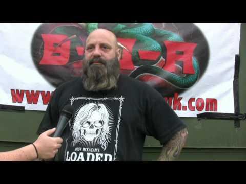 Crowbar interview @ Bloodstock 2012