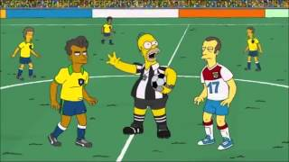 simpsons luxembourg brasil football game