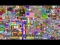Reddit Place (/r/place)   FULL 72h (90fps) TIMELAPSE